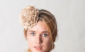 Ruffled Rose Headpiece