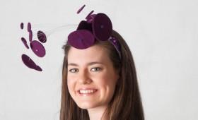 Purple Discs Hat